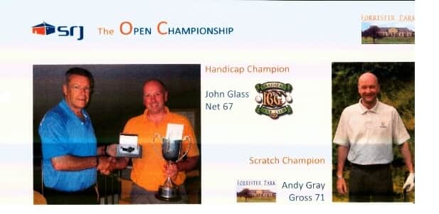 SRJ OPEN CHAMPIONSHIP 2012